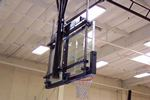 Glass Backboard with E-Z Slider Height Adjuster