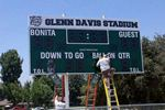Scoreboard Installation Bonita High School