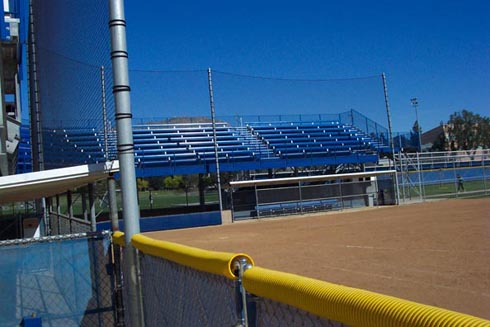 Custom Netting Backstop. U.C.R. Riverside, Ca