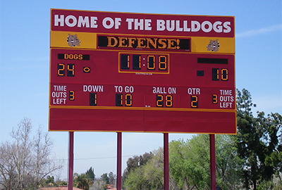 new custom scoreboard technology or repair old scoreboards