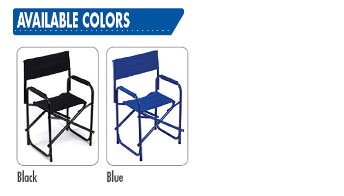 Directors chairs available colors