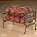 Picture of Bison 24 Ball Heavy-Duty Lockable Ball Cart