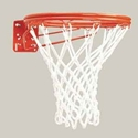 Picture of Bison Front Mount Double-Rim Basketball Goal with No-Tie Netlocks