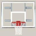 "Picture of Bison 42"" x 54"" Side Court Conversion Glass Backboard"