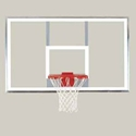 """Picture of Bison 42"""" x 72"""" Polycarbonate Playground Backboard"""