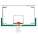 "Picture of Bison 42"" x 72"" Unbreakable Short Glass Backboard"