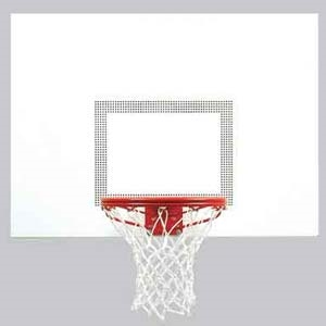 """Picture of Bison 39"""" x 54"""" Perpetual™ Steel Basketball Backboard"""