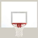 "Picture of Bison 39"" x 54"" Perpetual White Aluminum Playground Backboard"