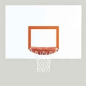 "Picture of Bison 42"" x 60"" Ultimate™ Rectangular Steel Backboard"