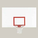"Picture of Bison 42"" x 72"" Rectangular Steel Backboard"