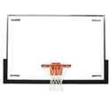 """Picture of Bison 48"""" x 72"""" Unbreakable Tall Replacement Glass Backboard"""