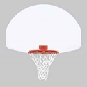 "Picture of Bison 39"" x 54"" Ruff Play Rear Mount Steel Playground Backboard"
