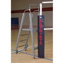 Picture of Bison Freestanding Folding Padded Volleyball Officials Platform with Padding