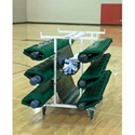 Picture of Bison Six Post Deluxe Volleyball Cart