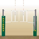 Picture of Bison UltraLite Aluminum Volleyball System