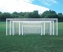 "Picture of Bison ShootOut™ 2"" x 4"" Portable Aluminum Soccer Goals"