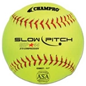 "Picture of Champro 11"" Game .44 Slow Pitch Softball - ASA Certified"