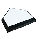 Picture of Champro Professional Home Plate (Bury All Style) - Wood Bottom