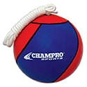 Picture of Champro Tetherball - Royal & Scarlet