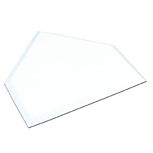 Picture of Champro White Molded Rubber Home Plate