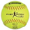 "Picture of Champro 12"" Game Fast Pitch Softball - ASA Certified"