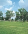 "Picture of Bison 3 -1/2"" Galvanized H-Style Football Goalposts"