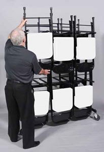 Picture of Bison Sport Pride™ Chair Transport Cart