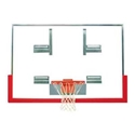 """Picture of Bison 48"""" x 72"""" Tall Unbreakable """"XL"""" Glass Competition Conversion Backboard"""