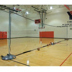 Bison Portable Divider Net System Gymnasium Equipment