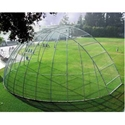 Picture of L.A. Steelcraft Perpendicular Arch Baseball Backstop with Extension