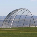 Picture of L.A. Steelcraft Perpendicular Style Arched Backstop