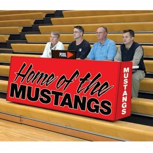 Picture of Bison Sport Pride ™ Graphic Scorers Tables
