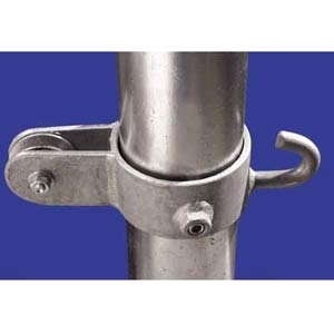 Picture of L.A. Steelcraft NPA-E Series: Moveable Side Pulley with Eye