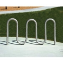 Picture of Tubular Solutions Inc Galvanized Wave Bike Rack