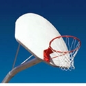 Picture of L.A. Steelcraft Single Curved Basketball Post