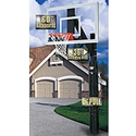 "Picture of Bison 5"" Ultimate Jr. Fixed Height Perpetuity Glass Basketball System"