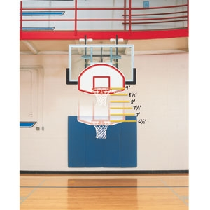 Picture of Bison 6 in 1 Adjustable Easy Up Mini Goal