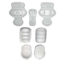 Picture of Adams Tuff Lite Slotted Complete Pad Set