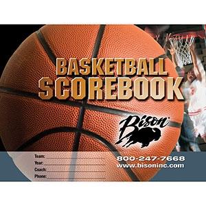 Picture of Bison Basketball Team Scorebook