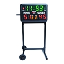 Picture of BSN Wheeled Stand for Indoor and Indoor/Outdoor Tabletop Scoreboard