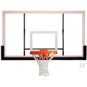 "Picture of Gared® 42"" x 72"" Polycarbonate Rectangular Backboard with Aluminum Front"