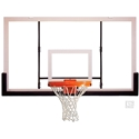 """Picture of Gared 42"""" x 72"""" Acrylic Rectangular Backboard with Aluminum Front"""