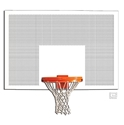 "Picture of Gared® 42"" x 72"" Perforated Steel Rectangular Backboard"