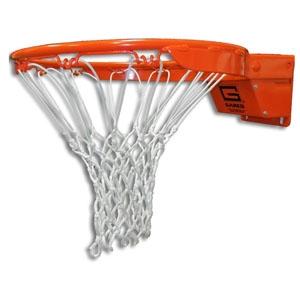 Picture of Gared® Collegiate Breakaway Basketball Goal with Nylon Net