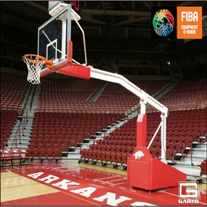 Picture of GARED Pro® S Portable Basketball System with Boom & Wheel Lift Option