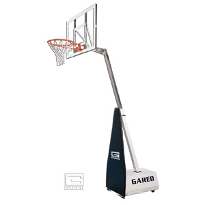 Picture of Gared Mini-EZ™ Roll-Around Basketball System with 3' Boom