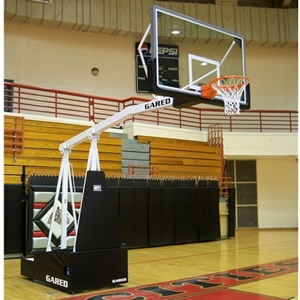 Picture of Gared Hoopmaster Portable Basketball System with Boom