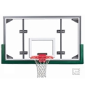 "Picture of Gared® 42"" x 72"" Conversion Glass Basketball Backboard with Steel Frame"