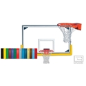 Picture of Gared Collegiate Basketball Backboard Package