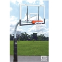 "Picture of Gared 5-9/16"" Heavy-Duty Outdoor Gooseneck Basketball Package"
